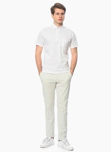 George Hogg Polo Yaka Tişört Beyaz